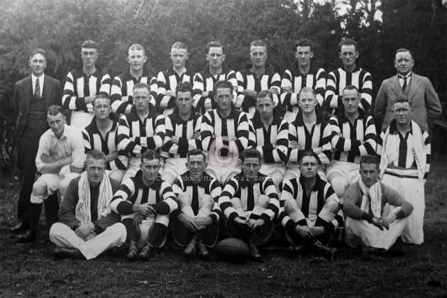 201a- Camperdown Football Club, 1933