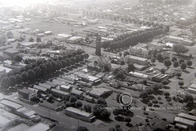 245. Camperdown from above, c.1980