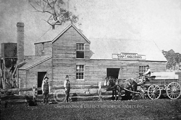 25. Camperdown Soap & Candle Works, c.1890