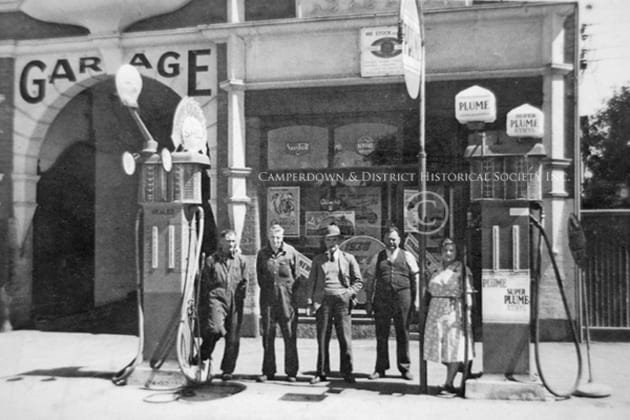 34. The Errey & Hilderbrand Garage, Camperdown, c.1945