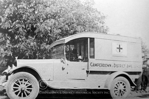 370. Camperdown & District Ambulance, c.1935