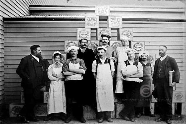 444a - Camperdown Butter Factory staff, c1896