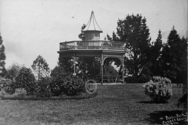 590 - Botanic Gardens Rotunda, c1900