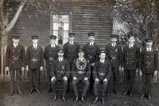 802a - Camperdown Fire Brigade, c1915