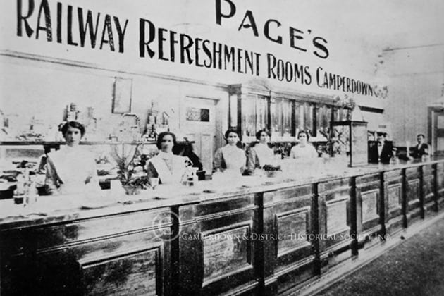 879. Camperdown Railway Refreshment Room, c.1900