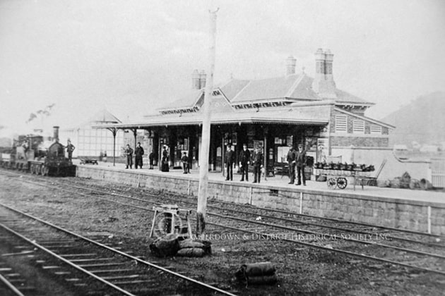 882. Camperdown Railway Station, c.1890