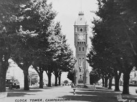 Clock Tower and Elms, 1930