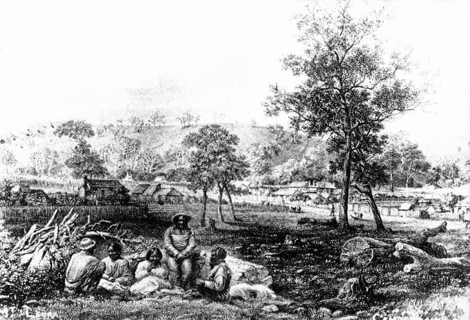 Early Camperdown, c1855 (etching)