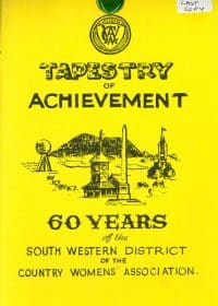 tapestry of achievement front cover