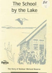 the school by the lake front cover